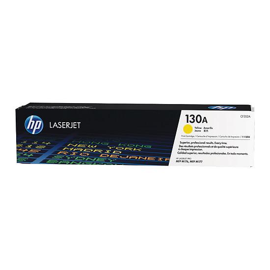 Toner imprimante HP 130A - CF352A Jaune
