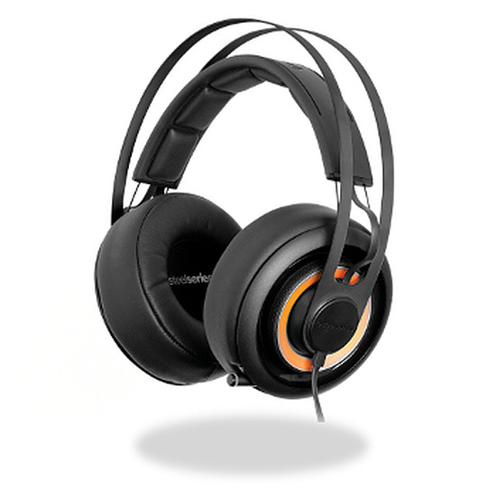 Casque micro SteelSeries Siberia Elite Prism - Noir (PC/PS4)