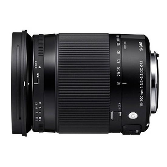 Objectif pour appareil photo Sigma 18-300mm f/3,5-6,3 DC MACRO OS HSM (Canon)