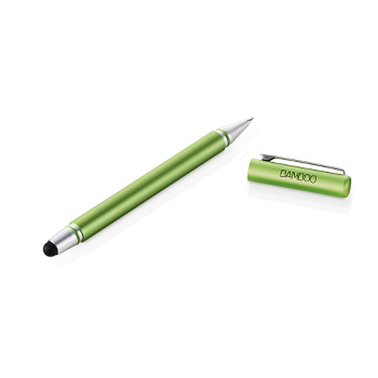 Accessoires tablette tactile Wacom Stylet Bamboo Stylus duo 3 - Vert