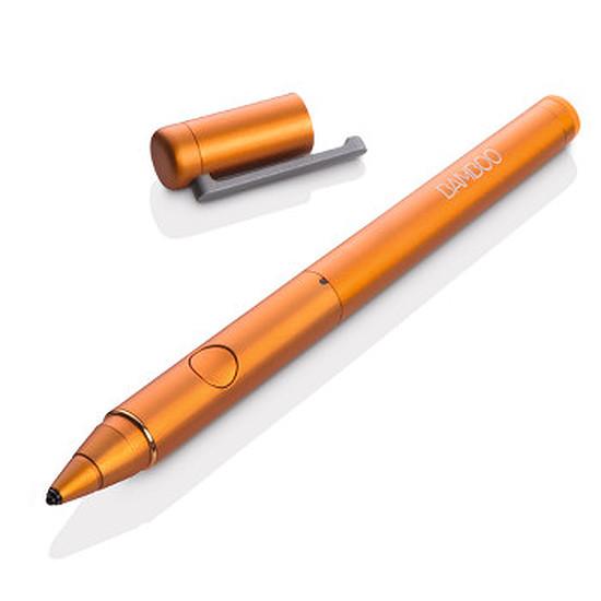 Accessoires tablette tactile Wacom Stylet Bamboo Stylus Fineline - Orange