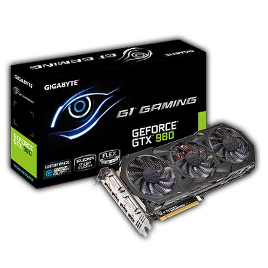 Carte graphique Gigabyte GeForce GTX 980 Gaming WindForce 3X - 4 Go
