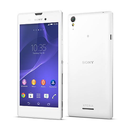 Smartphone et téléphone mobile Sony Mobile Xperia T3 (blanc)