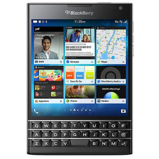 Smartphone et téléphone mobile BlackBerry Passport (noir)