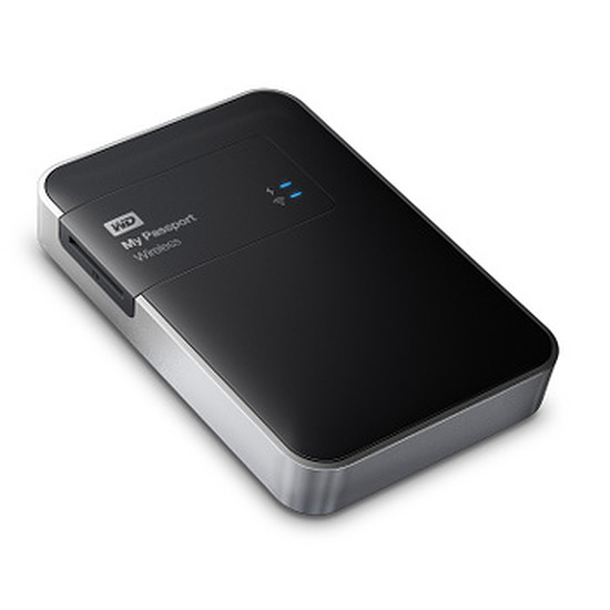 Disque dur externe Western Digital (WD) My Passport Wireless WDBLJT5000ABK - 500 Go