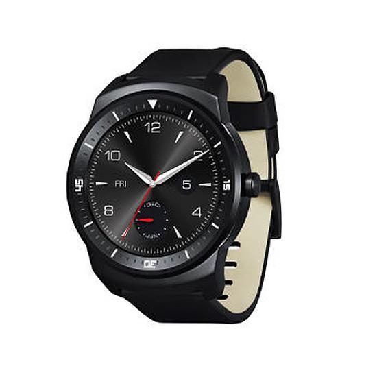 Montre connectée LG Montre connectée LG G Watch R (noir)