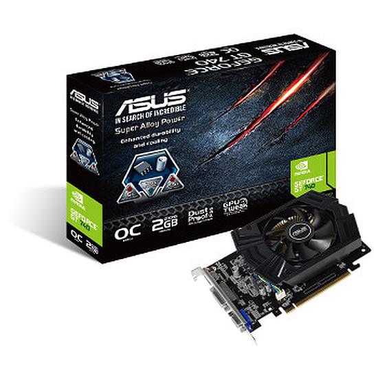 Carte graphique Asus GeForce GT 740 - 2 Go OC (GT740-OC-2GD5)