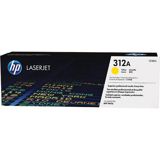 Toner imprimante HP 312A - CF382A Jaune