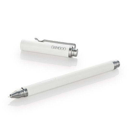 Accessoires tablette tactile Wacom Stylet Bamboo Stylus Feel 2 - Blanc