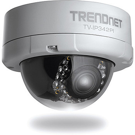 Caméra IP TrendNet TV-IP343PI - Caméra IP PoE Vari-Focal IP66 2MP