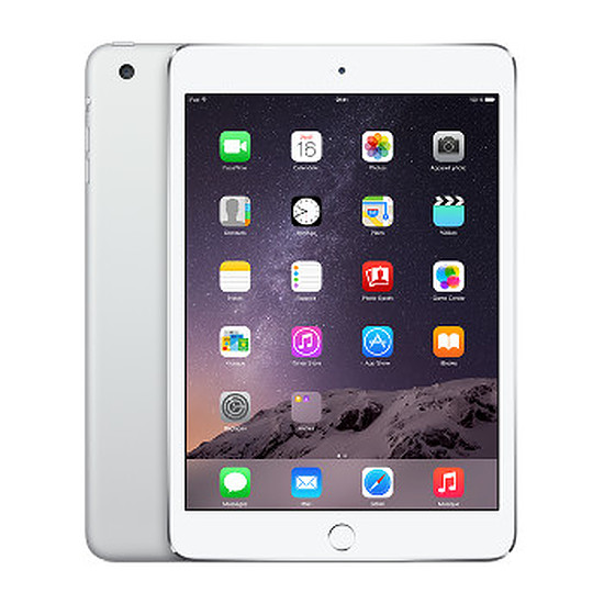 Tablette Apple iPad Mini 3 - Wi-Fi - Cellular - 64Go (Argent)