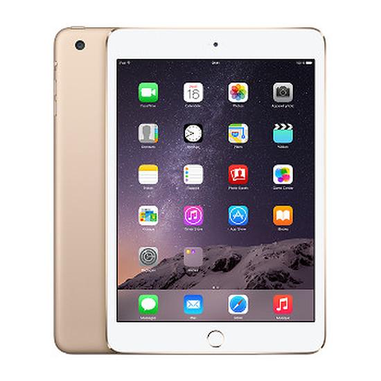 Tablette Apple iPad Mini 3 - Wi-Fi - Cellular - 128Go (Or)