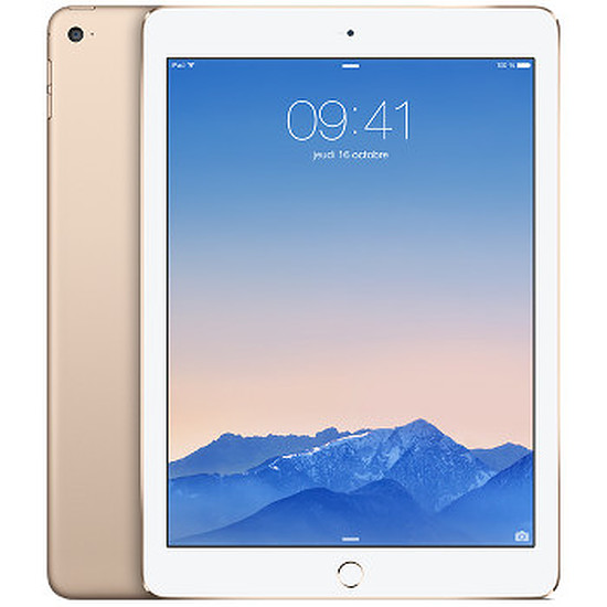 Tablette Apple iPad Air 2 - Wi-Fi + Cellular - 64Go (Or)