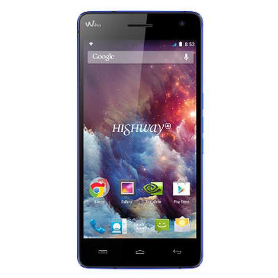 Smartphone et téléphone mobile Wiko Highway 4G (bleu)