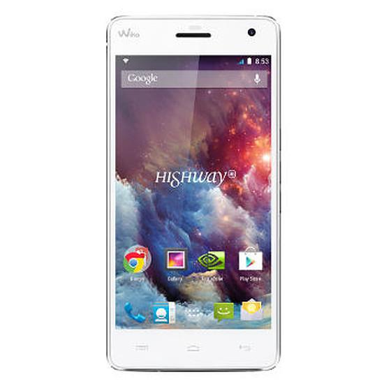 Smartphone et téléphone mobile Wiko Highway 4G (blanc)