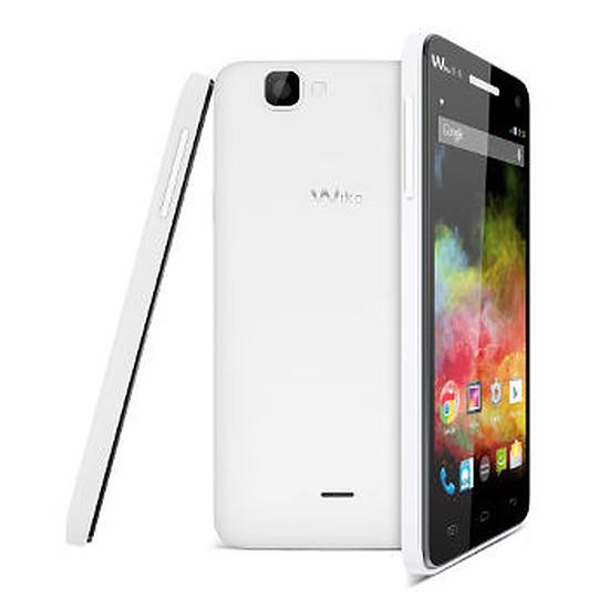 Smartphone et téléphone mobile Wiko Rainbow 4G (blanc)