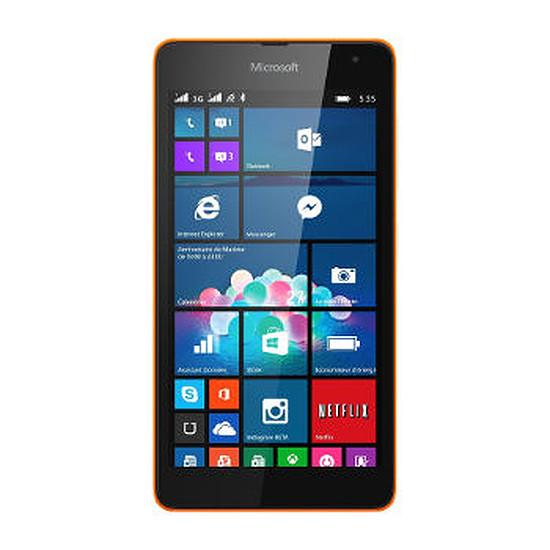 Smartphone et téléphone mobile Microsoft Lumia 535 (orange) - Double SIM