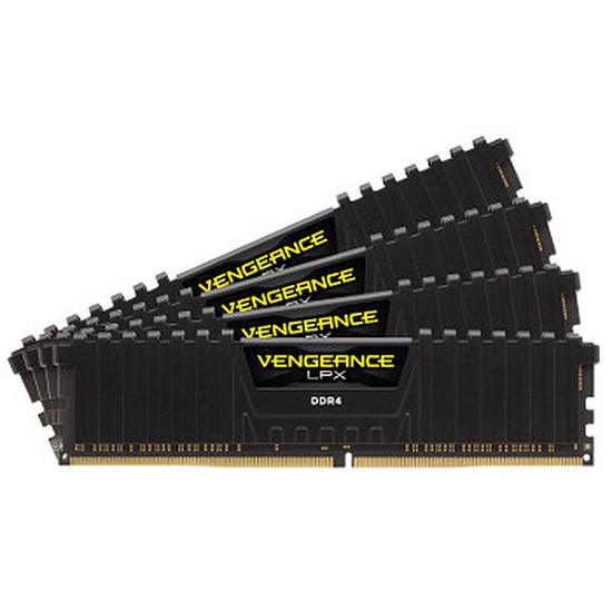 Mémoire Corsair Vengeance LPX Black DDR4 4 x 4 Go 2400 MHz CAS 14