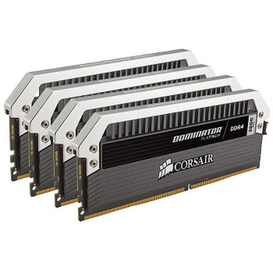 Mémoire Corsair Dominator Platinum DDR4 4 x 8 Go 2666 MHz CAS 16