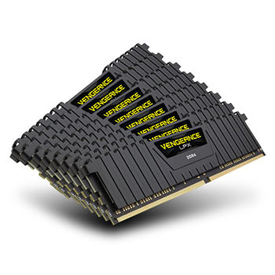 Mémoire Corsair Vengeance LPX Black DDR4 8 x 8 Go 2133 MHz CAS 13