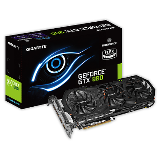 Carte graphique Gigabyte GeForce GTX 980 WindForce 3X - 4 Go