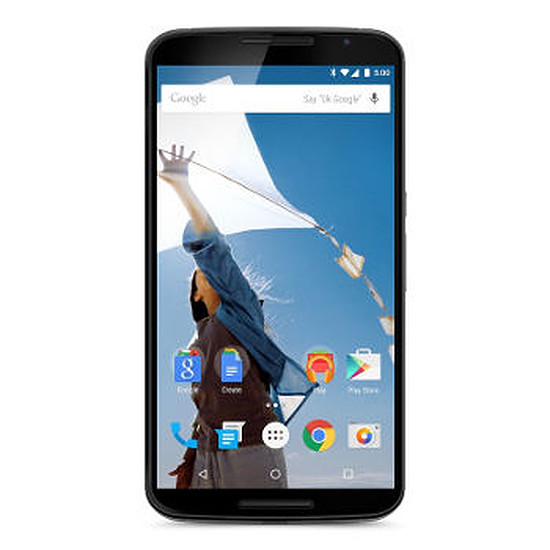 Smartphone et téléphone mobile Motorola Google Nexus 6 (blanc) - 64 Go