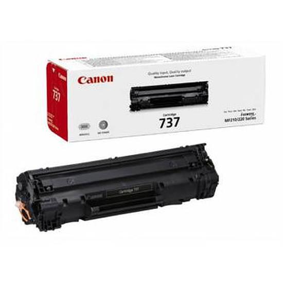 Toner imprimante Canon CRG-737 Noir