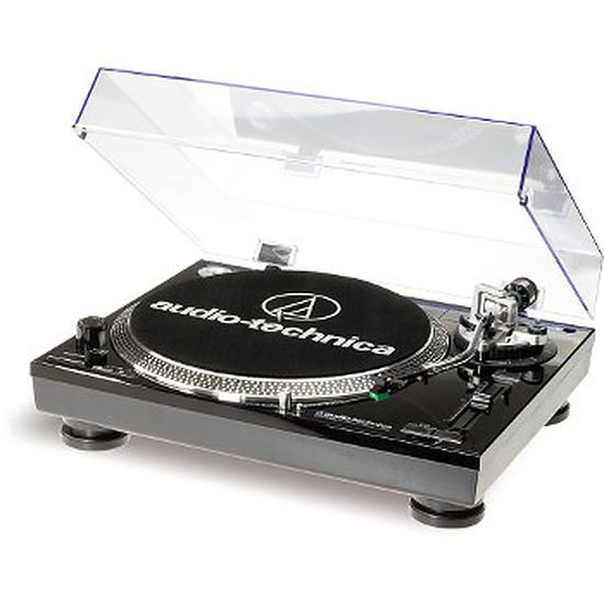 Platine Vinyles Audio-Technica Platine disque vinyle AT-LP120 USB Noire