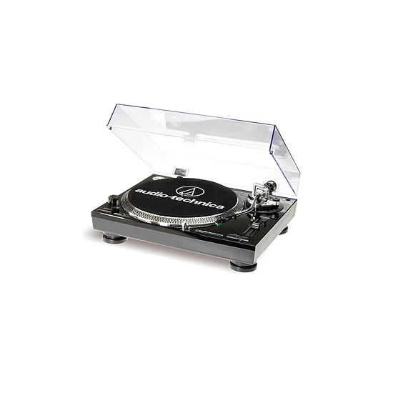 Platine Vinyles Audio-Technica Platine disque vinyle AT-LP120 USB Noire  - Autre vue
