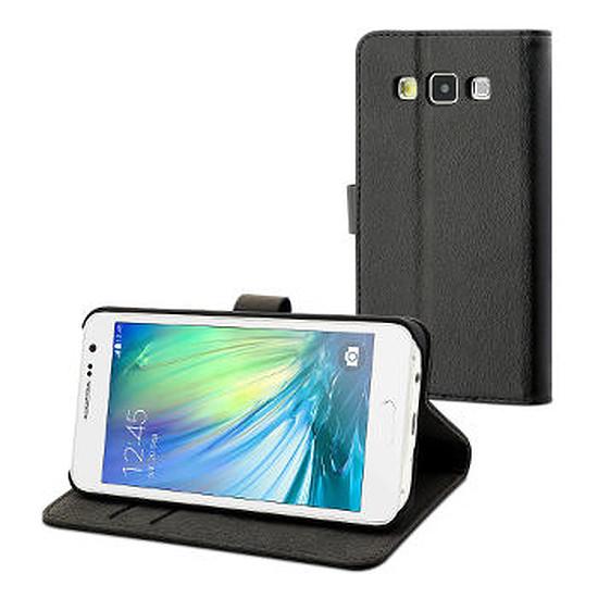 Coque et housse Muvit Etui folio slim (noir) - Samsung Galaxy A3