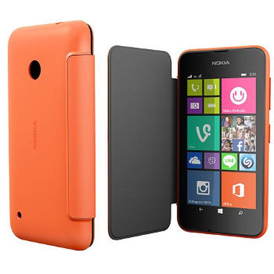 Coque et housse Microsoft Etui Folio (orange) - Lumia 535
