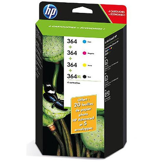 Cartouche imprimante HP Combo Pack n°364 (J3M82AE) - Cartouche d'encre