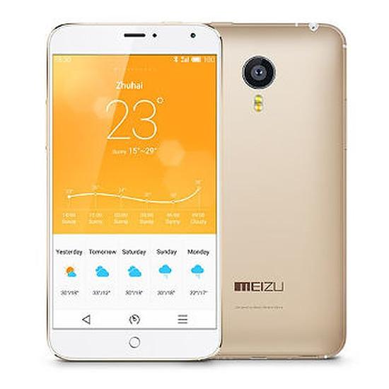 Smartphone et téléphone mobile Meizu MX4 (or) - 16 Go