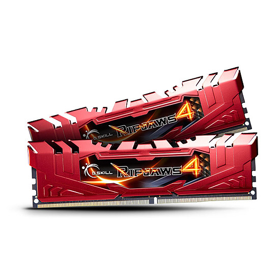 Mémoire G.Skill Ripjaws IV Red DDR4 2 x 4 Go 2133 MHz CAS 15