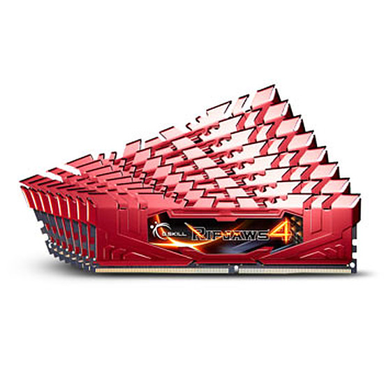 Mémoire G.Skill Ripjaws 4 Red  DDR4 8 x 8 Go 2133 MHz CAS 15