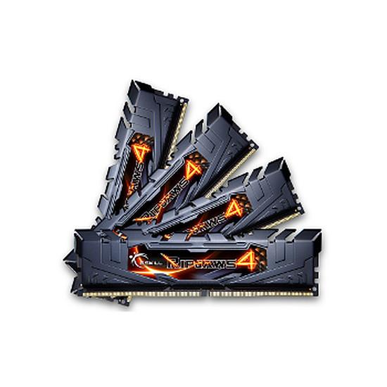 Mémoire G.Skill Ripjaws 4 Black DDR4 4 x 4 Go 2400 MHz CAS 14
