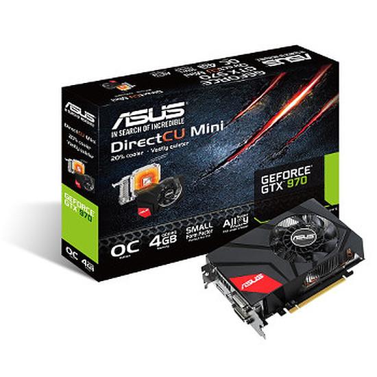 Carte graphique Asus GeForce GTX 970 OC Mini - 4 Go