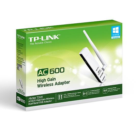 Carte réseau TP-Link Archer T2UH - Clé USB Wifi AC600 double bande - Autre vue