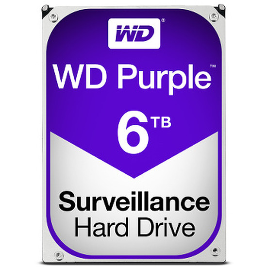 Disque dur interne Western Digital (WD) Purple - 6 To