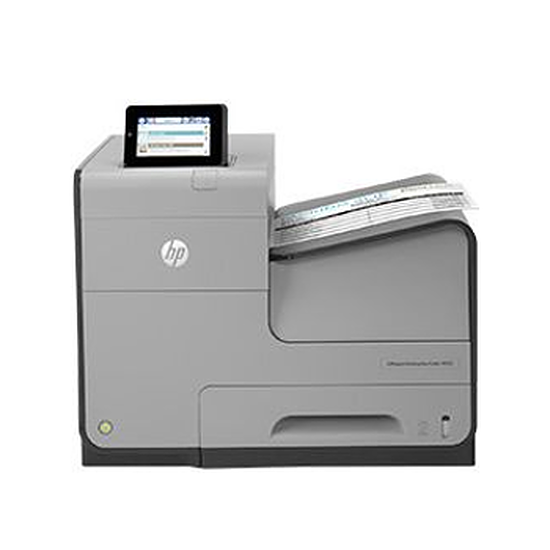 Imprimante jet d'encre HP Officejet X555dn - Imprimante Jet d'encre Couleur