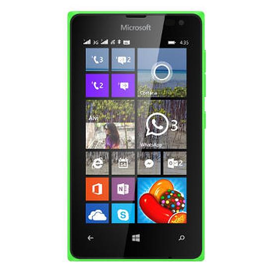 Smartphone et téléphone mobile Microsoft Lumia 435 (vert) - Double SIM