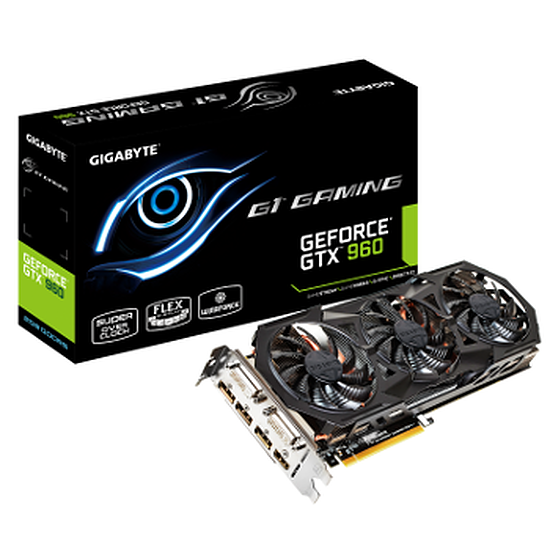 Carte graphique Gigabyte GeForce GTX 960 Gaming G1 - 2 Go