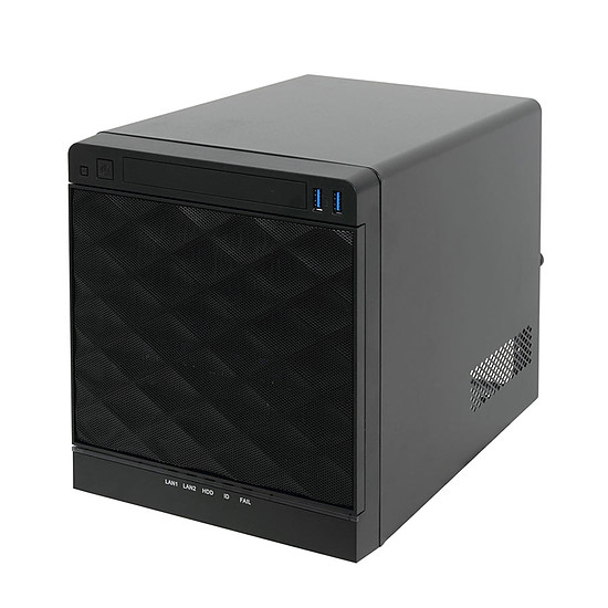 Boîtier PC In Win MS04 - Serveur mini ITX 4 baies