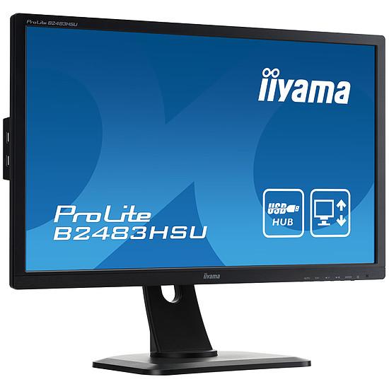 Écran PC Iiyama ProLite B2483HSU-B1DP - Autre vue