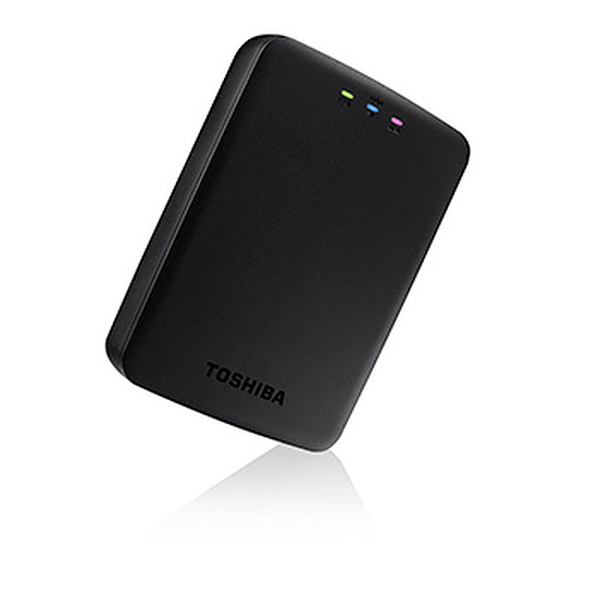 Disque dur externe Toshiba HDD Externe WiFi CANVIO AeroCast - 1 To