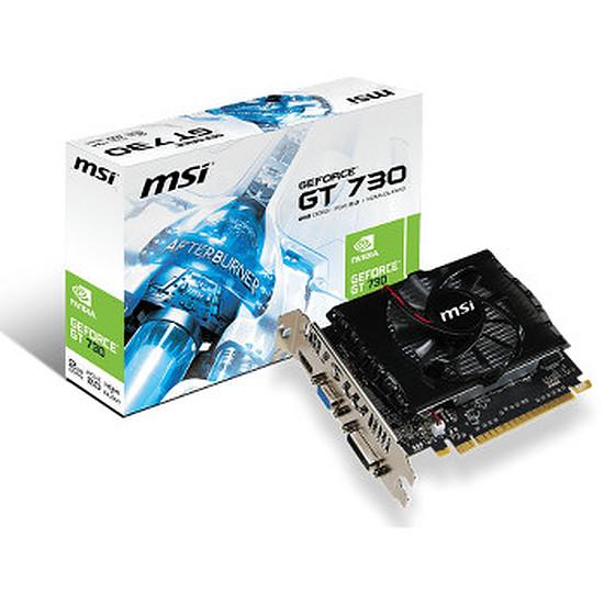 Carte graphique MSI GeForce GT 730 V1 - 2 Go (N730-2GD3)
