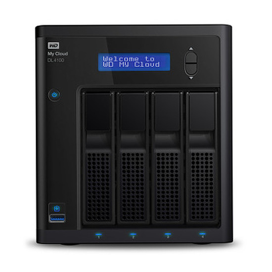 Serveur NAS Western Digital (WD) NAS My Cloud Business DL4100 - 8 To (4 x 2 To)