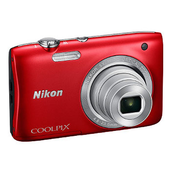 Appareil photo compact ou bridge Nikon Coolpix S2900 Rouge