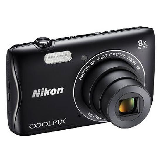 Appareil photo compact ou bridge Nikon Coolpix S3700 Noir