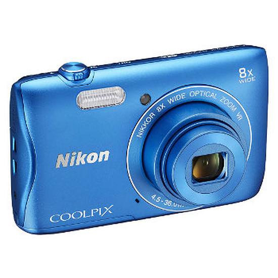 Appareil photo compact ou bridge Nikon Coolpix S3700 Bleu
